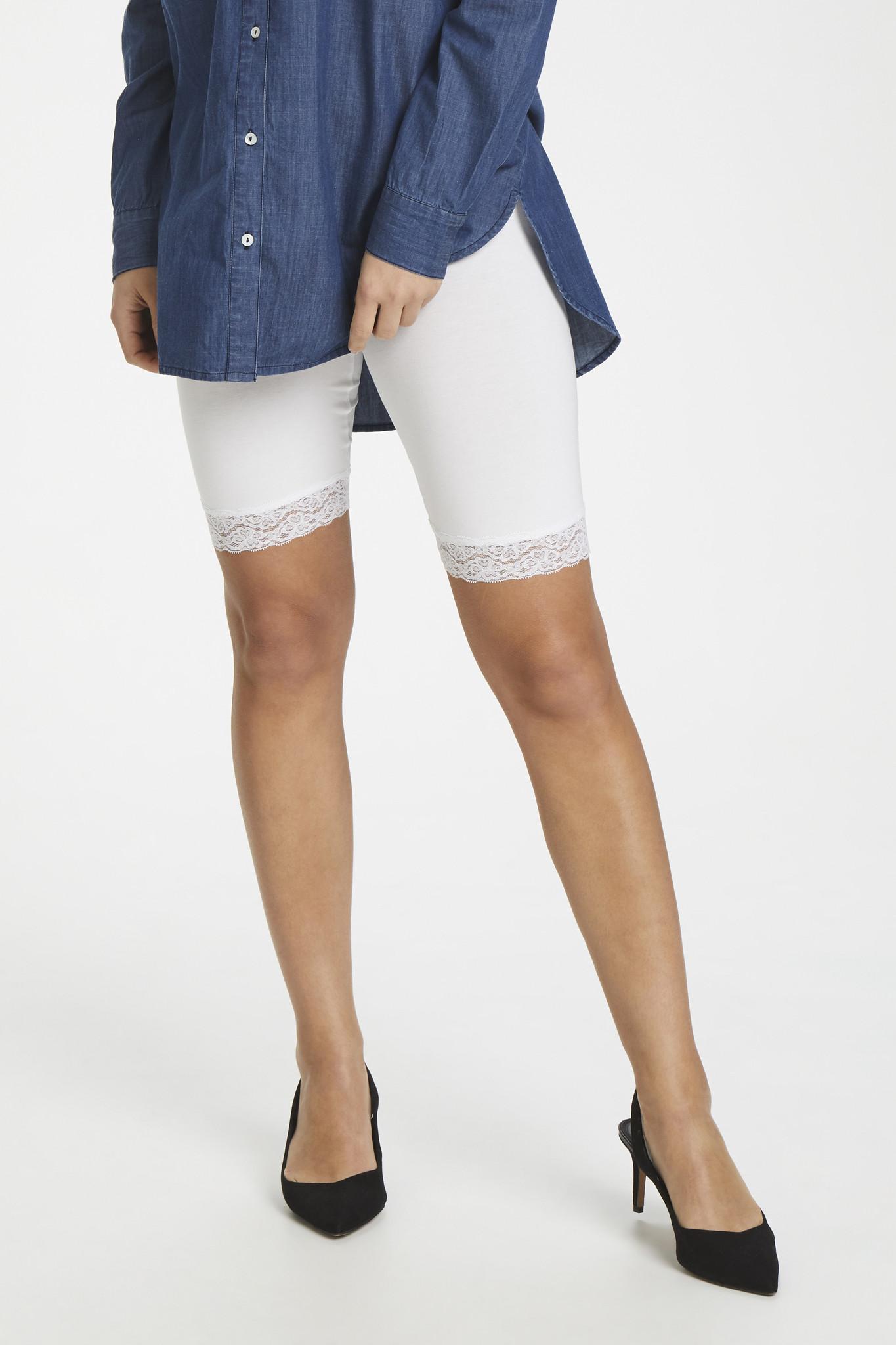 Broek KAsvala Jersey Shorts Optical white-7