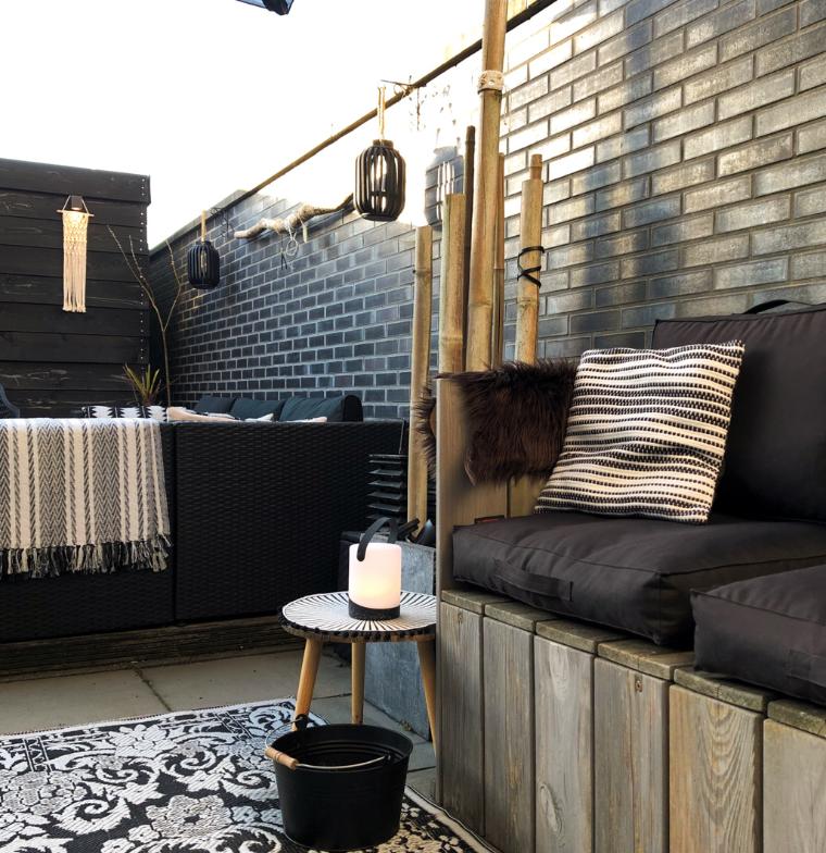 Tafellamp outdoor Mabe Black-3
