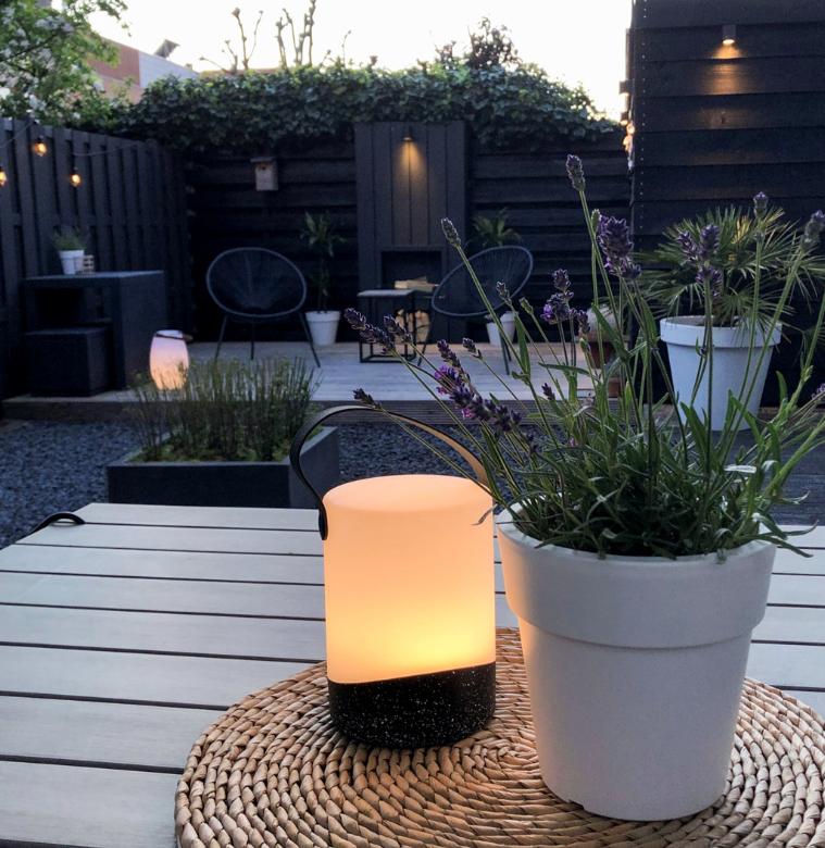 Tafellamp outdoor Mabe Black-4