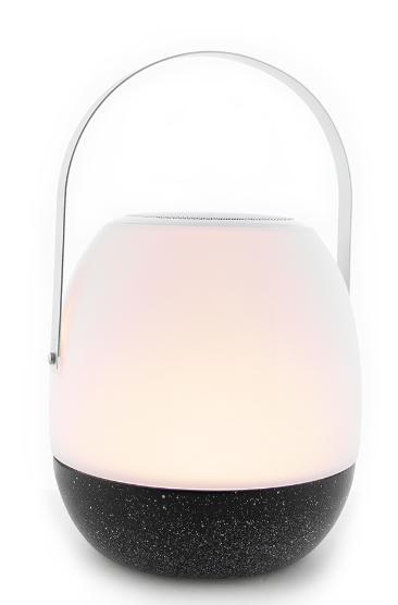 Tafellamp outdoor Pine Black + speaker-5