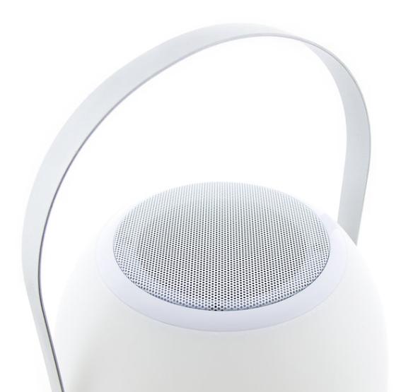 Tafellamp outdoor Pine Black + speaker-3