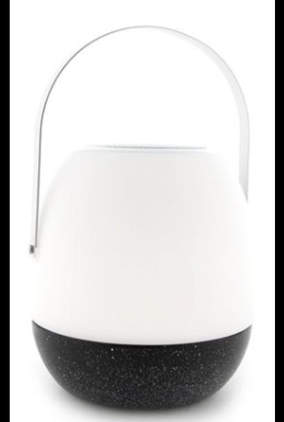 Tafellamp outdoor Pine Black + speaker