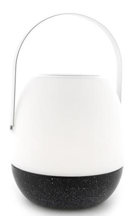 Tafellamp outdoor Pine Black + speaker-1