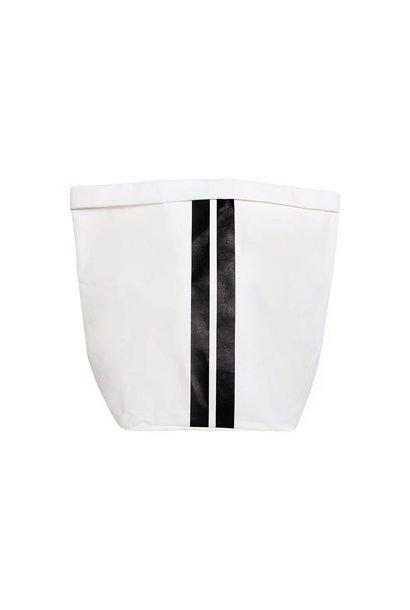 Zak the paper bag L white