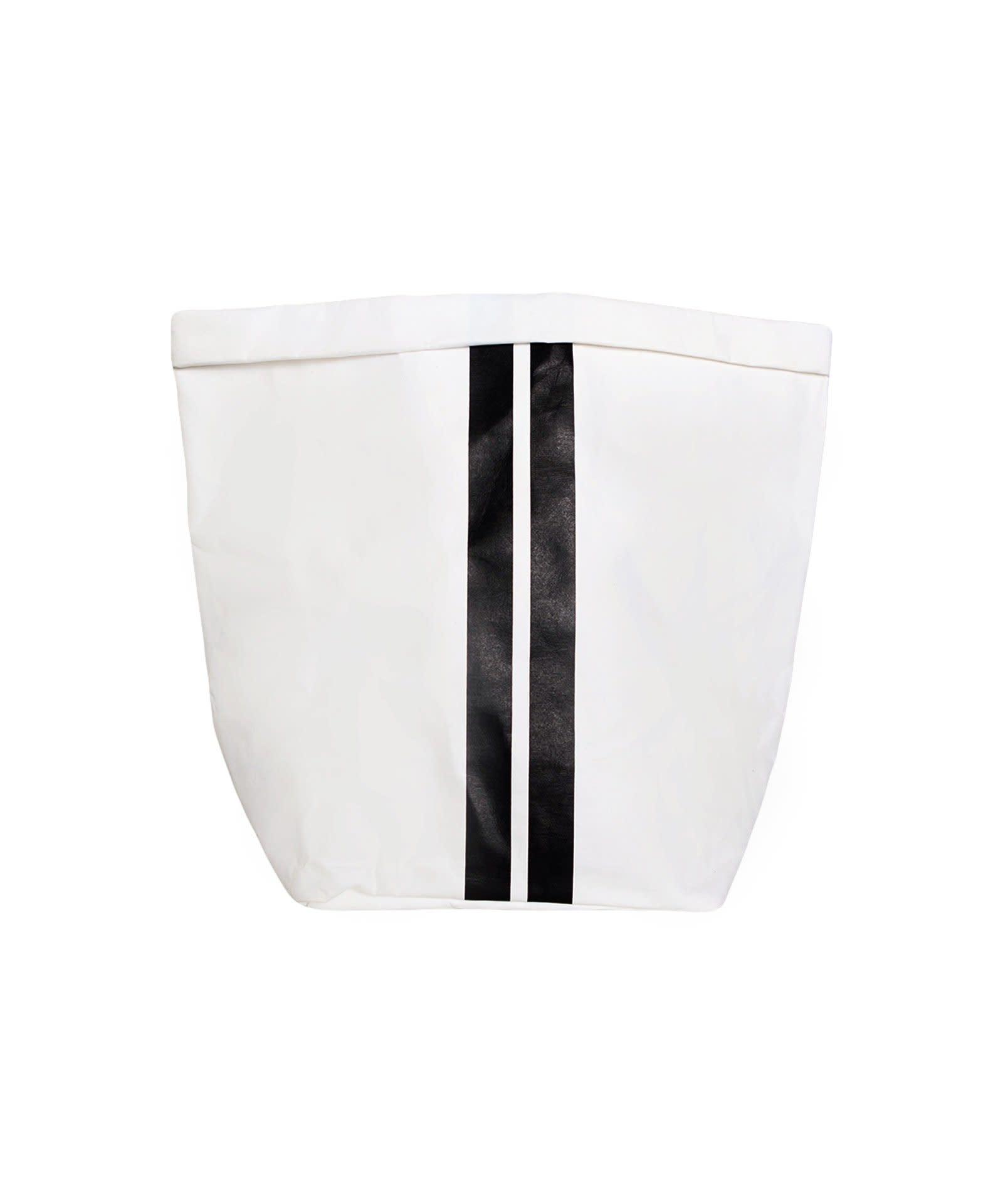 Zak the paper bag L white-1