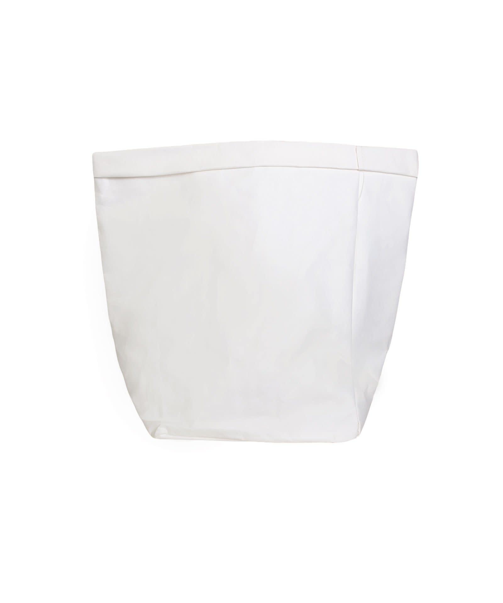 Zak the paper bag L white-3