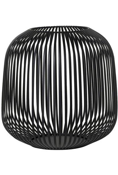 Lantaarn Lito medium black