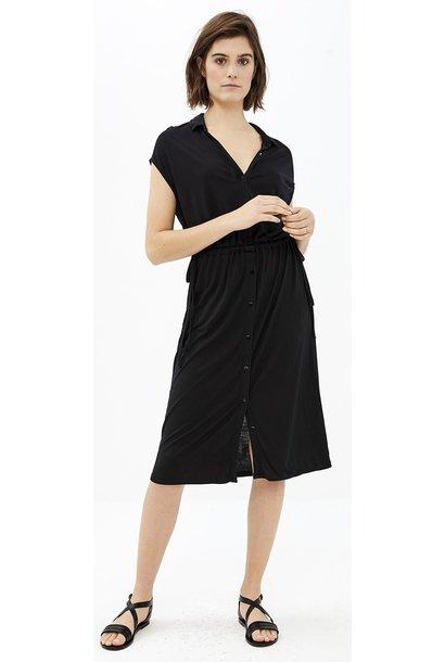Jurk agnes dress black