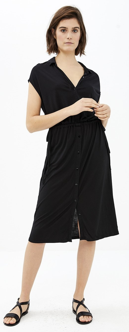 Jurk agnes dress black-1