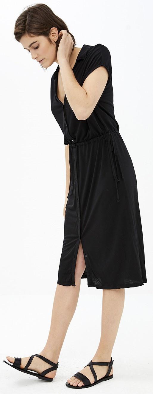 Jurk agnes dress black-5
