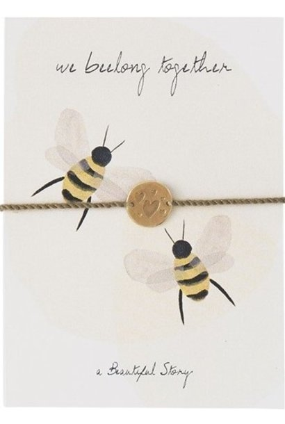 Armband Postcards Bees