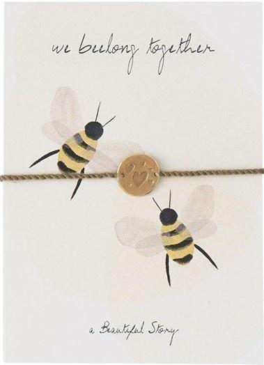 Armband Postcards Bees-1