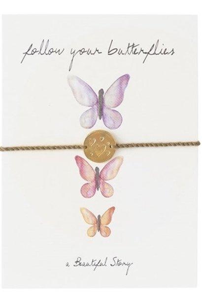Armband Postcard Butterflies
