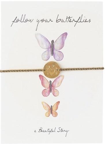 Armband Postcard Butterflies-1
