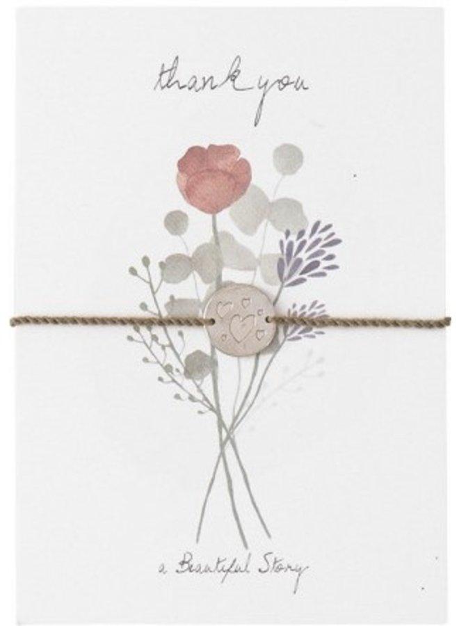 Armband Postcard Flowers