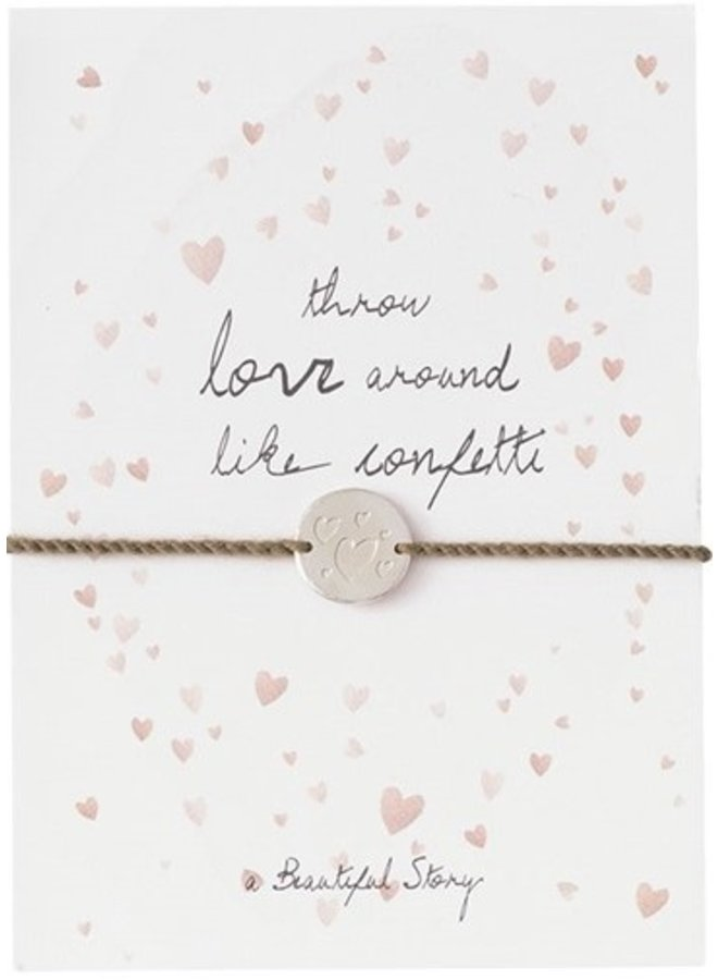 Armband Postcard Confetti