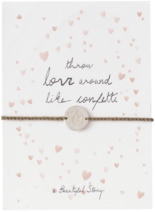 Armband Jewelry Postcard Confetti