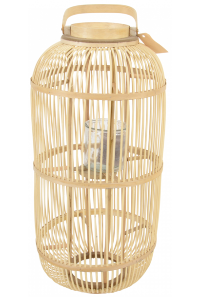 Windlicht bamboo Kathmandu 76cm
