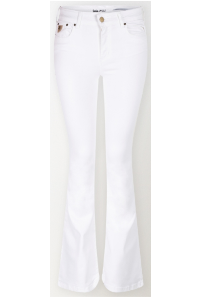 Jeans Megalia Blush lengte 34 white