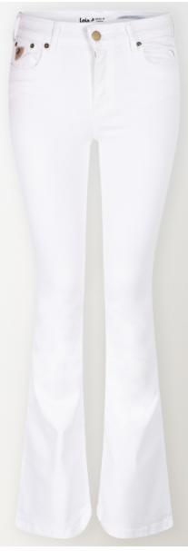 Jeans Megalia Blush lengte 34 white-1
