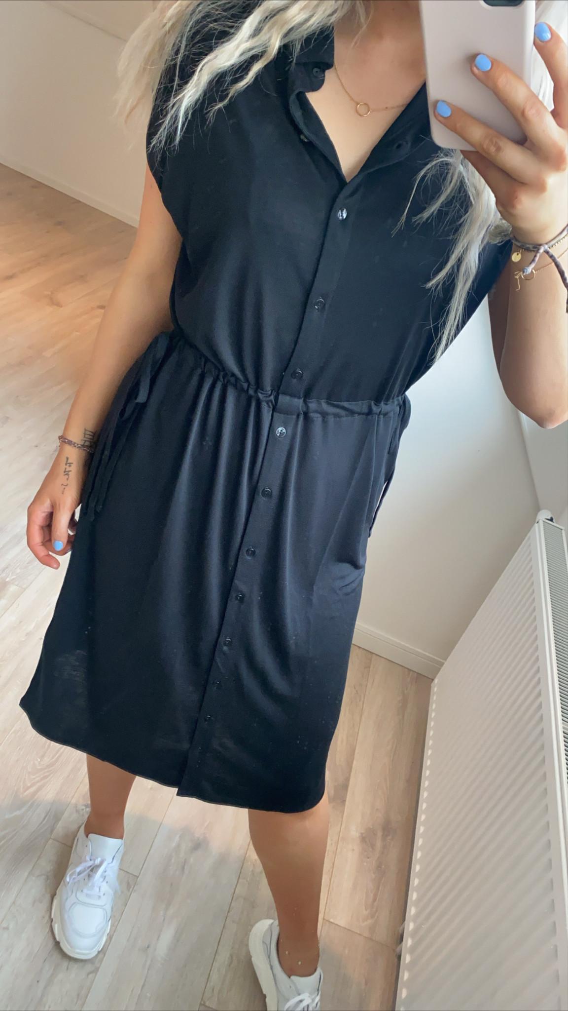 Jurk agnes dress black-7