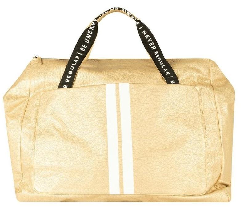 Tas weekend bag gold-1