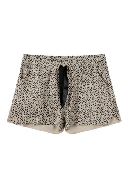 Broek Shorts velvet safari
