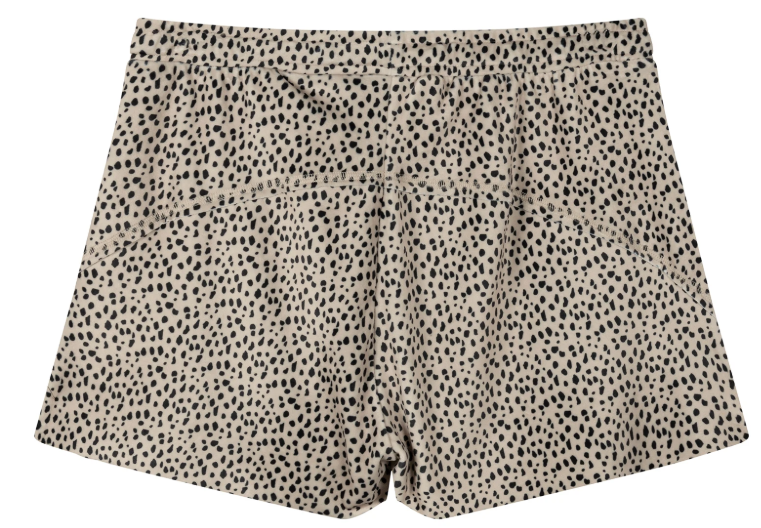 Broek Shorts velvet safari-3