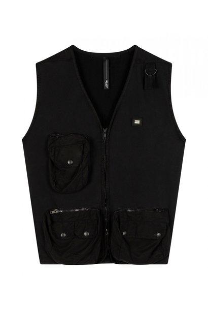 Gilet utility vest black