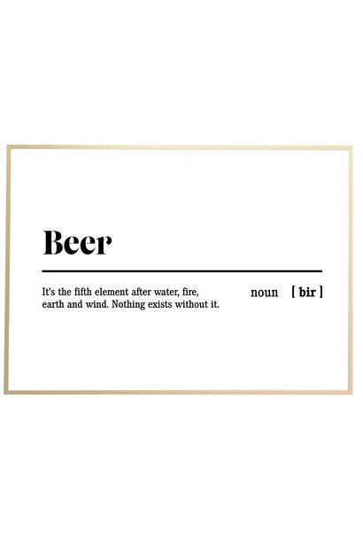 Poster outdoor 'Beer'