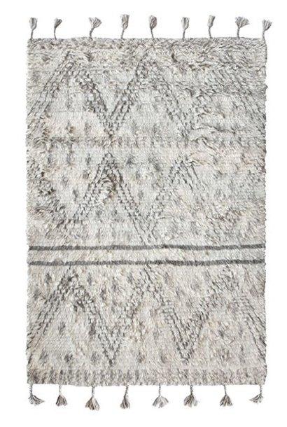 Vloerkleed handwoven woolen berber rug 180x280cm