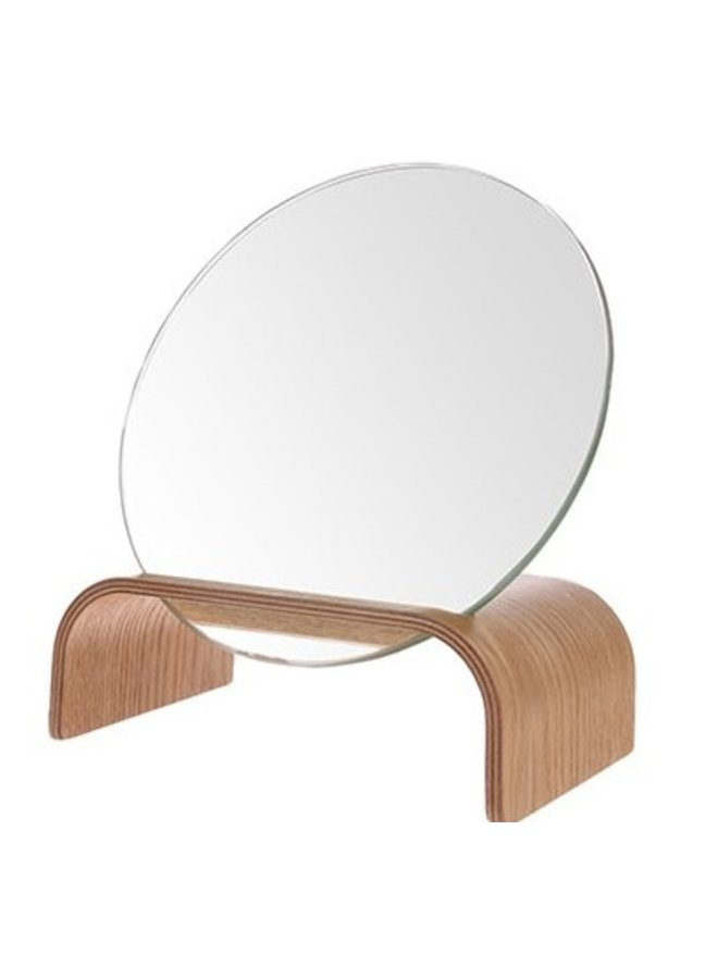 Spiegel willow wood mirror stand