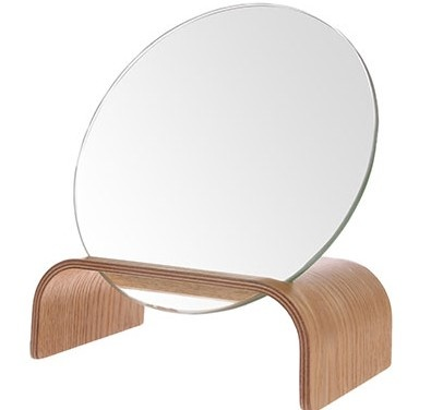 Willow wood mirror stand-1