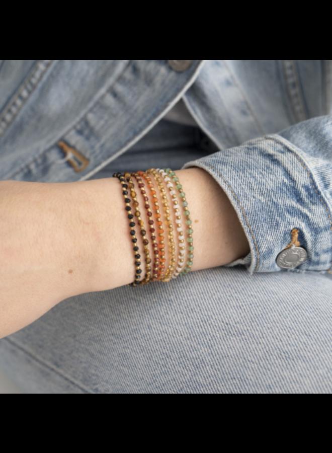 Armband Beautiful Moonstone Gold bracelet