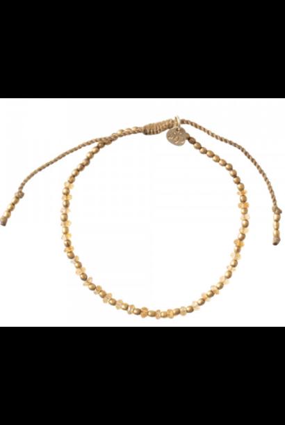 Armband Beautiful Citrine Gold