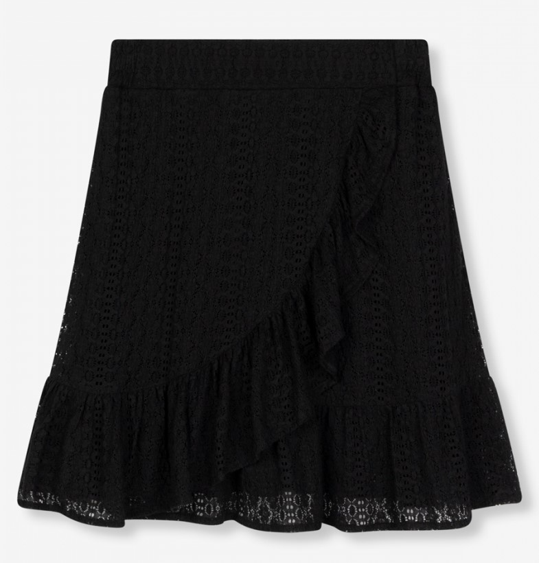 Rok knitted lace black-2