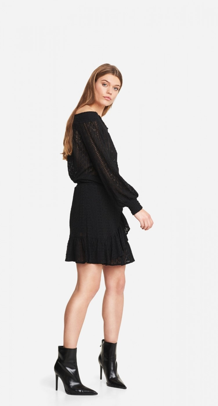 Rok knitted lace black-3