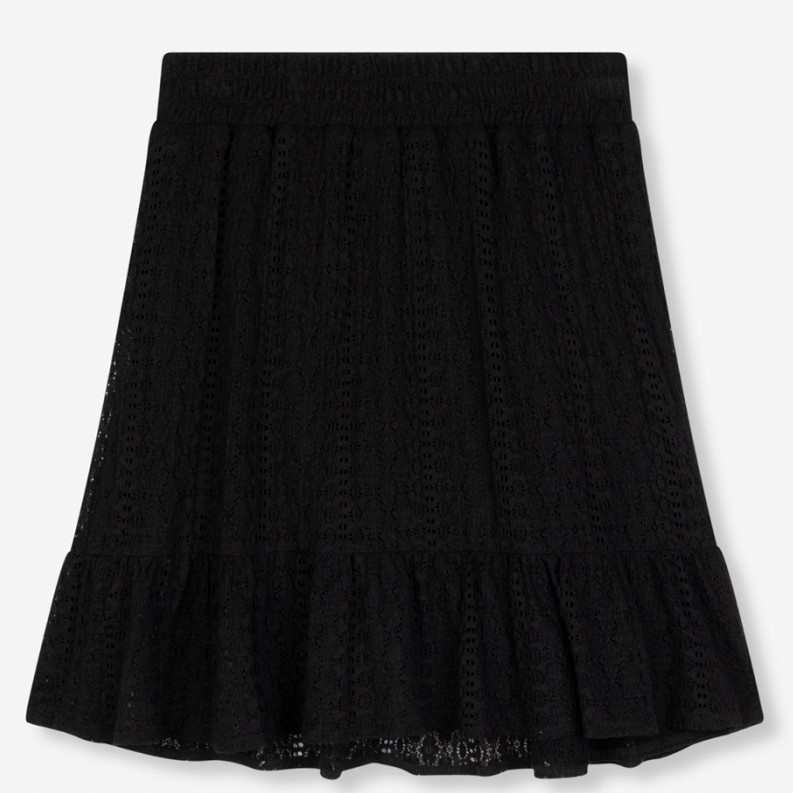 Rok knitted lace black-6