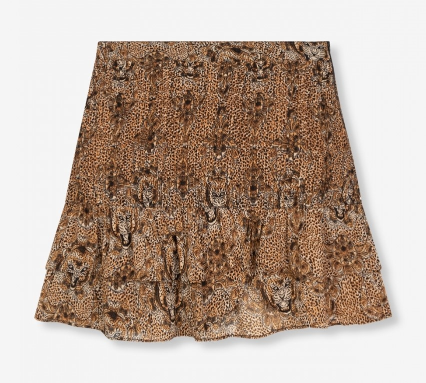 Rok woven animal crepe-1