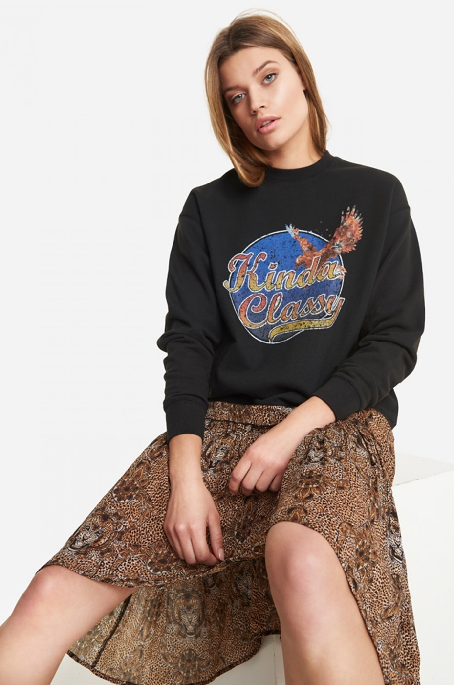 Sweater Knitted classy sweater-4