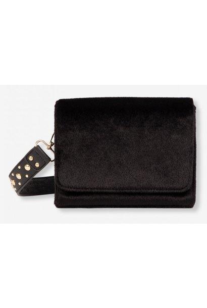 Tas Ladies woven small bag black