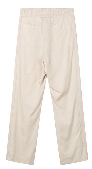 Broek Straight pants panel light safari-3