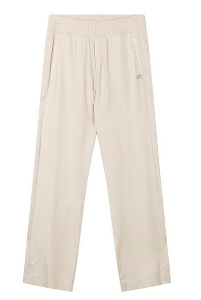 Broek Straight pants panel light safari