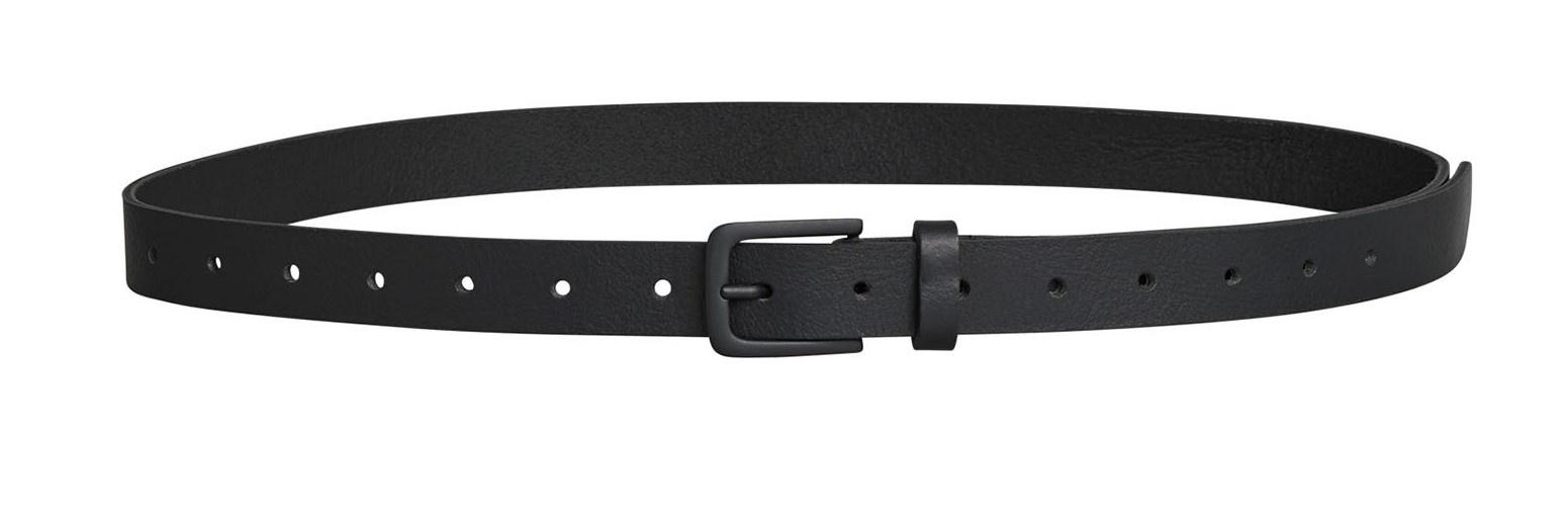 Riem leather belt black-1