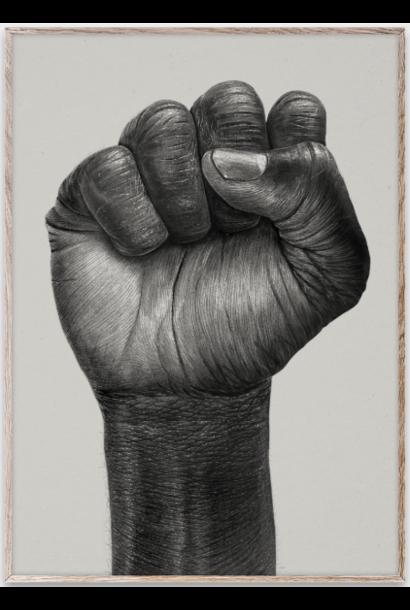 Poster Raised Fist 50x70 cm