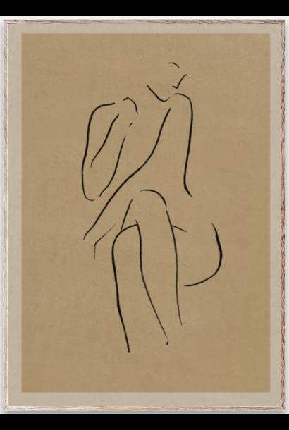 Poster Grace I 30x40 cm