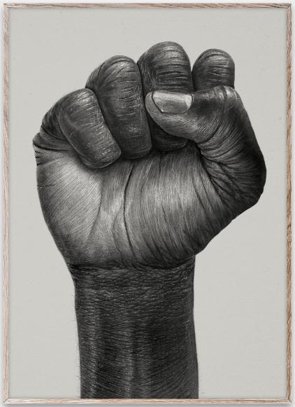 Poster Raised Fist 30x40-1