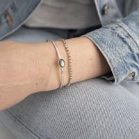 Armband Beautiful Labradorite Silver bracelet-2