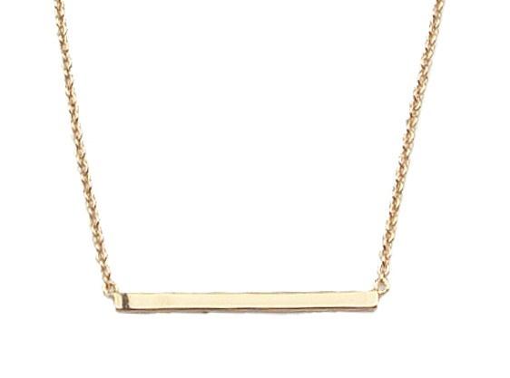 Ketting Souvenir bar Gold-1
