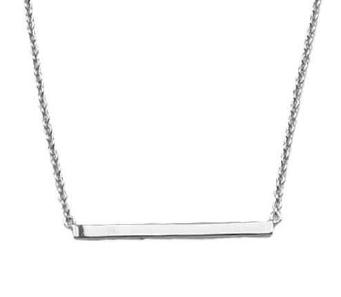Ketting Souvenir bar Silver-1